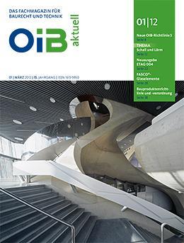 OIB aktuell, Heft 1/2012