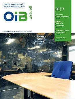 OIB aktuell, Heft 1/2013