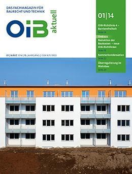 OIB aktuell, Heft 1/2014