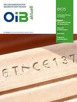 OIB aktuell, Heft 1/2015
