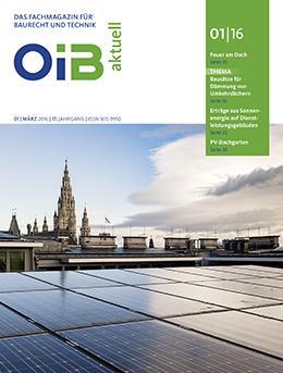 OIB aktuell, Heft 1/2016