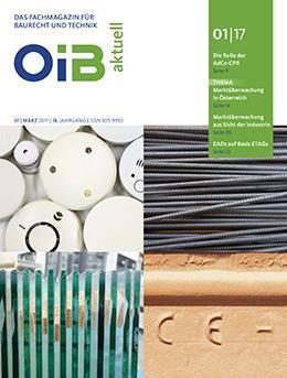 Cover OIB aktuell, Heft 1/2017