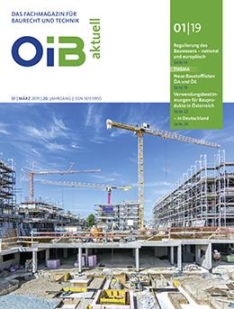 OIB aktuell, Cover, Heft 1/2019