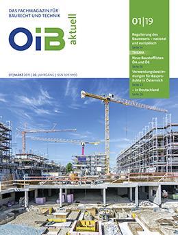 OIB aktuell, Heft 1/2019