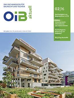 OIB aktuell, Heft 2/2016