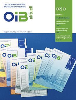 OIB aktuell, Cover, Heft 2/2019
