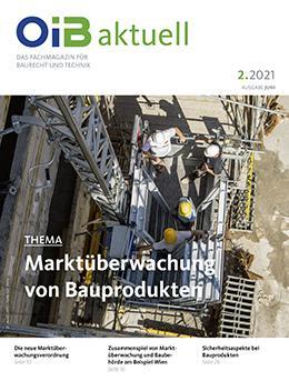 OIB aktuell, Cover Heft 2.2021