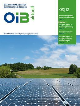 OIB aktuell, Heft 3/2012