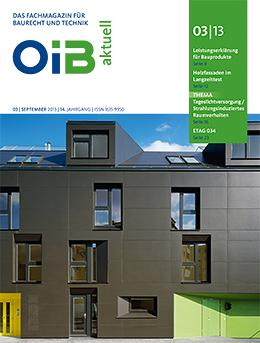 OIB aktuell, Heft 3/2013