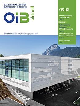 Cover, OIB aktuell, Heft 3/2018