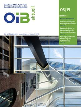 OIB aktuell, Cover, Heft 3/2019