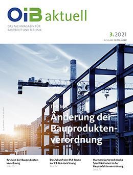 OIB aktuell, Cover Heft 3.2021