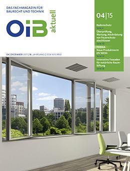OIB aktuell, Heft 4/2015