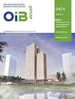 OIB aktuell, Heft 4/2016