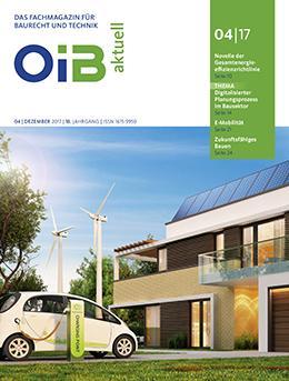 Cover, OIB aktuell, Heft 4/2017