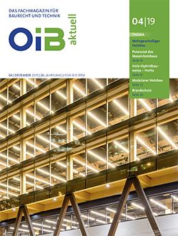 OIB aktuell, Cover, Heft 4/2019