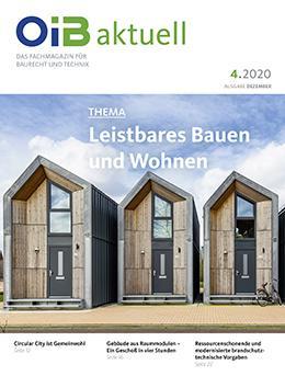 OIB aktuell, Heft 4.2020